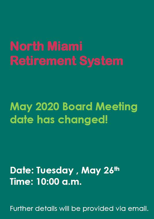 Board Meeting Flyer update